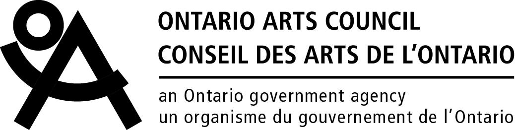 Conseil des arts de l'Ontario - Logo et remerciements fr-ca