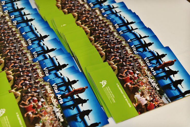 Photo of brochures